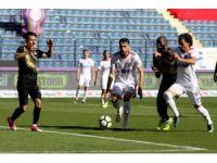 Süper Lig: Osmanlıspor: 0 - Kardemir Karabükspor: 0 (İlk yarı)