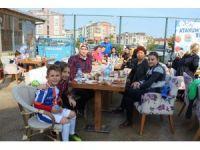 Atakum Belediyespor kahvaltıda buluştu