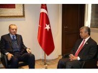 Cumhurbaşkanı Erdoğan, Malezya Başbakan Yardımcısı'nı kabul etti