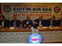 Eğitim-Bir-Sen Genel Başkan Yardımcısı Olçum, YÖK'ün yaptığı sınav değişikliklerini eleştirdi: