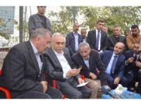 Bakan Fakıbaba'dan maden ocağındaki göçükte ölen işçilerin ailelerine ziyaret