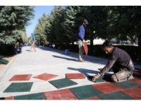 Karaman Belediyesinden yürüyüş yoluna düzenleme