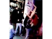 Kadıköy'de dün gece 2 kişinin yaralandığı sandalyeli kavga kameralarda