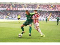 Süper Lig: D.G. Sivasspor: 0 - Bursaspor: 0 (İlk yarı)