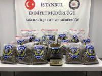 Bağcılar'da bir emlakçıya uyuşturucu operasyonu düzenlendi