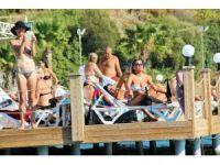 Bodrum'da hava sıcaklığı 28, deniz suyu sıcaklığı 27'ye ulaştı
