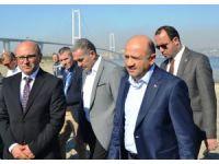 Başbakan Yardımcısı Işık, Yalova Hersek'te incelemelerde bulundu