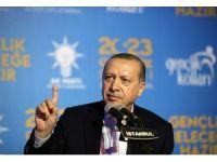 """Cumhurbaşkanı Erdoğan: """"Nerede bize yönelik bir taciz varsa bir gece ansızın vurabiliriz"""""""