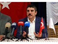 Prof. Dr. Aktay, iş adamlarıyla Edremit'teki termal tesiste incelemede bulundu