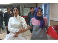 Düğünde kız tarafı ile damat tarafı kavga etti, gelin ile birlikte 11 kişi yaralandı