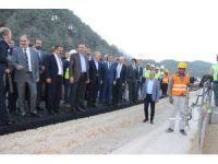 Bakan Arslan, Kahramanmaraş'ta yatırımları inceledi