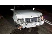 Sungurlu Belediyesporlu voleybolcu kaza geçirdi