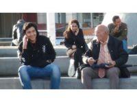 Taksim'de yaşlı adamın sapıklık yaptığı iddiası