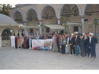 250 genç sabah namazında bir araya geldi