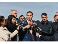 Başdenetçi Malkoç, Deniz Baykal'ı ziyaret etti