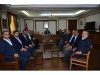 OSB  yönetim kurulu Vali Şentürk'ü ziyaret etti