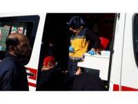 Suriyelilerin kaldığı evde yangın