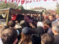 Van Şehidi Onbaşı Kemal Zeren'in naaşı helallik almak için evine getirildi