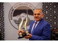 İki ödül alan tek ilçe Melikgazi Belediyesi oldu