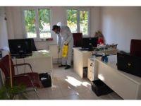 Bozüyük Belediyesi'nde ilaçlama çalışmaları