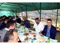 Sarıgöl protokolü Alemşahlı'da buluştu