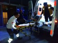 Bafra'da 1 kişi bıçakla yaralandı