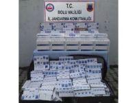 Bolu'da 5 bin 70 paket kaçak sigara ele geçirildi