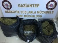 Gaziantep'te 20 kilogram uyuşturucu ele geçirildi