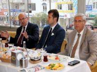 Belediye Başkanları basın mensuplarıyla kahvaltıda buluştu