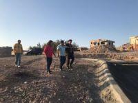 Başkan Gülenç park inşaatını inceledi