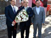 Vali Salim Demir Eşme ilçesini ziyaret etti