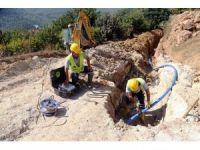 Değirmendere'nin içme suyu şebekesi yenilendi