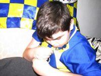 Kas erime hastası iki kardeşin hayali Fenerbahçe maçını izlemek