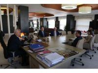 Nilüfer İlçe Emniyet Müdürü Akan'dan Başkan Bozbey'e ziyaret
