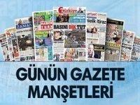 25 Kasım 2017 tarihli gazete manşetleri