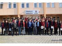 Liseli gençler Düzce Üniversitesi'ni ziyaret etti