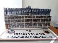 Ahlat'ta 4 bin 600 paket kaçak sigara ele geçirildi