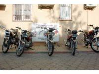 Polis 5 çalıntı motosikleti buldu