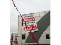 Kılıçdaroğlu'na Tekirdağ'da pankartlı tepki