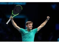 ATP Finalleri'nde son yarı finalist David Goffin oldu