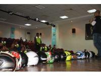 Aliağa'da motosiklet tutkunlarına eğitim