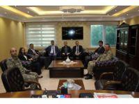 Diyarbakır Cumhuriyet Başsavcısı ve Adalet Komisyon Başkanından Hani'ye ziyaret