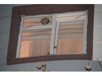 Kafasını pencereye sıkıştıran kedi itfaiye ekipleri tarafından kurtarıldı