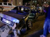 Tunceli'de trafik kazası: 2 yaralı