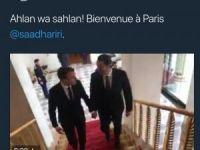 Lübnan Eski Başbakanı Hariri, Elysee Sarayı'nda
