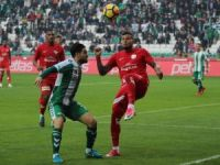Süper Lig: Atiker Konyaspor: 0 - Antalyaspor: 0 (İlk yarı)