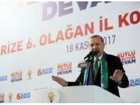 """Cumhurbaşkanı Erdoğan: """"Ayıp ya biz sizlerle müttefik değil miyiz ? Bu nasıl ittifak ?"""""""