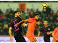 Süper Lig: Medipol Başakşehir: 2 - Galatasaray: 0 (İlk yarı)