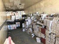 Van polisi, 10 ayda 5 milyon 450 bin paket kaçak sigara ele geçirdi