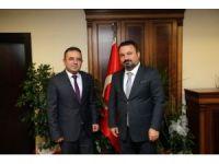 MHP Sincan İlçe Yönetimi'nden Başkan Ercan'a ziyaret